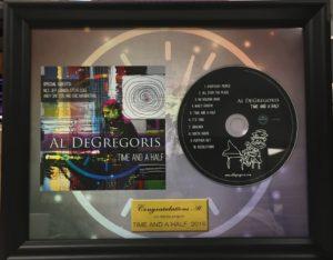 Commemorative Plaque from CLG Music & Media