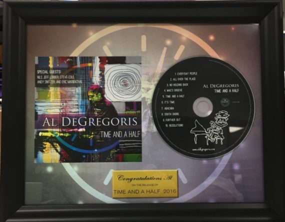 Commemorative Plaque from CLG Music & Media